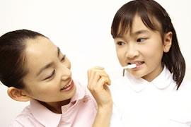 正しい歯磨きのイメージ